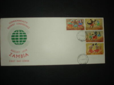 Zambia : 1979 Commonwelth Summit : Pictorial FDC