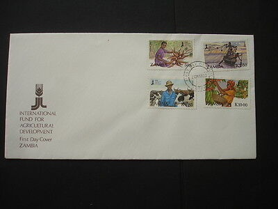 Ziambia : 1988 Agricultural Development : Pictorial FDC