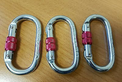 carabiner clip 23KN - climbing - screw tight