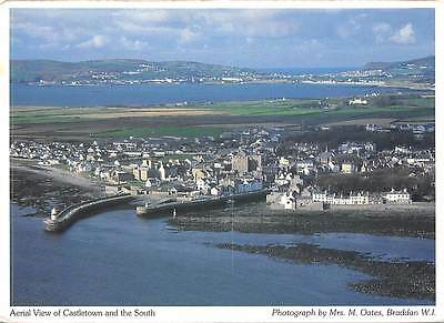 Aerial view of Castletown and the South Panorama