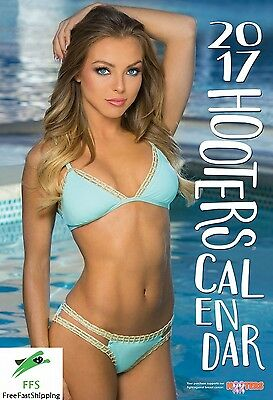 Calendar 2017 Hooters New Wall Calendars Photos Girls Office House Room