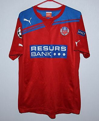 Helsingborgs Sweden home player issue shirt 10/11 #7 Lindstrom Puma Size M