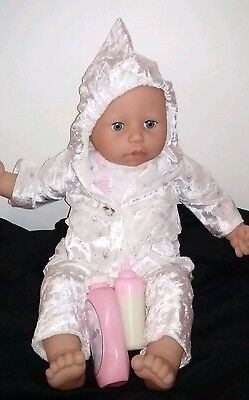 Zapf Creations Baby Annabelle Doll Interactive Laughs Cries Coos Moves her Head