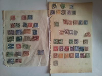 Old stamps of Sweden collection