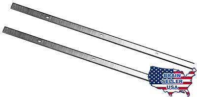POWERTEC 128036 12-1/2-Inch HSS Planer Knives for Porter Cable PC305TP, Set of 2