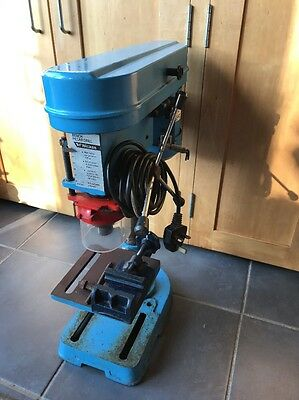Wickes Pillar Drill Bench Drill 5 Speed With Vice