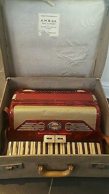 pigliacampo numana accordion 80 bass 3 voices (MML) 1960s Made in Italy