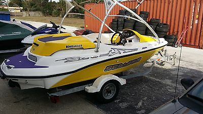 2003 Seadoo Sportster Jet Boat 155hp Non Supercharged w/ Trailer