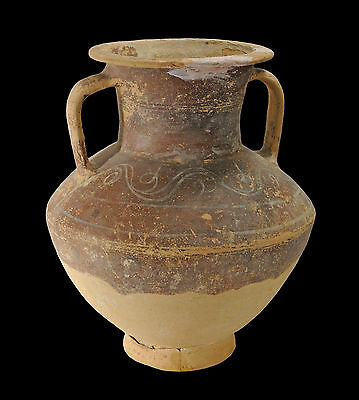 Aphrodite- Ancient Holy Land Large Pottery Amphora