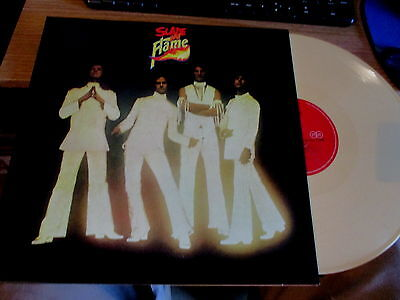 Slade-Lp Vinyl Record-Slade In Flame-G/fold Cover-Cream Color Wax-Mint/unplayed