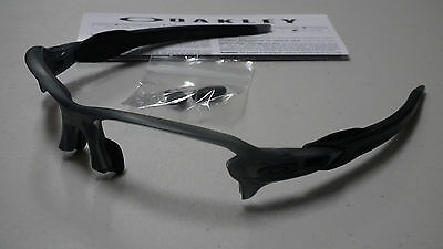 Oakley Flak 2.0 Grey Smoke Sunglasses Frame Oo9188-10 *authentic*