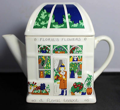 Wade Floral Teapot English Life Florie's Flowers 6.5""