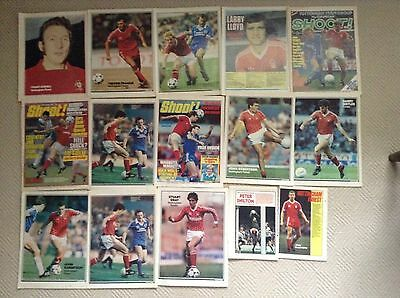SHOOT Football Magazine Notts Forest Player Posters Francis,Wallace,Lloyd