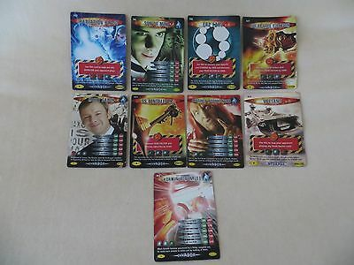 Doctor Who Battles In Time INVADER Cards x 8 Rare 1 Super Rare