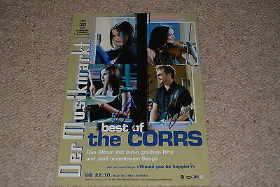 THE CORRS  signed Autogramm In Person 20x30 cm rar!!