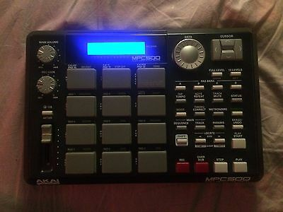 Akai MPC 500 with upgraded pads and full RAM