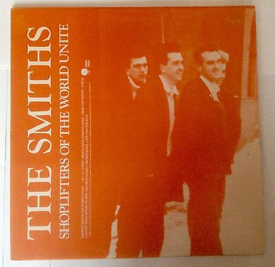 The Smiths-Shoplifters Of The World Unite- Rare Sire Promo