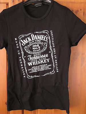 JACK DANIELS OFFICIAL LADIES T-SHIRT SIZE S (Small) - BRAND NEW & RARE!
