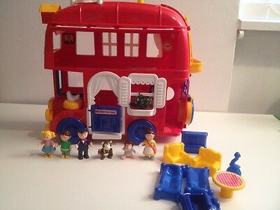 The Big Red Fun Bus by Bluebird with original Box