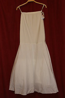 Bianco Evento Bridal Hoop/ Petticoat Ivory and White H18-190 Size 38/M