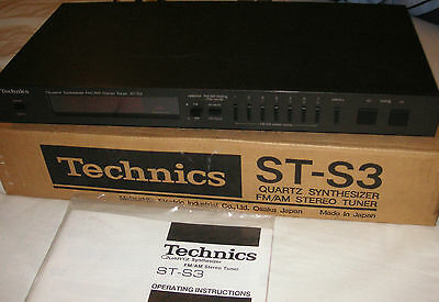 Technics ST-S3 Quartz Synthesised AM/FM tuner good working order