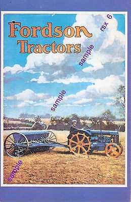 Tractor Old Fordson-Petrol,paraffin=The Farmers Mechanical Work Horse