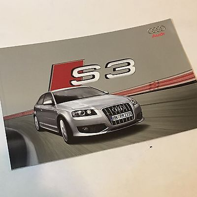 Audi 2006 S3 German Brochure