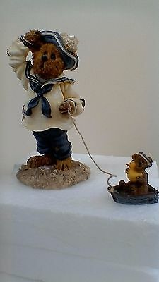 Boyds Bears resin sculpture, Yardley Starboard With Buoy...Whatever Floats Your