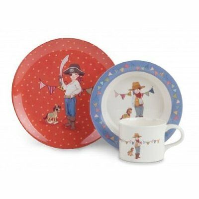 & Belle Boo-Set da 3 pezzi per bambini, in melammina, varie, Set of1