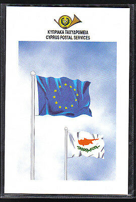 Cyprus Stamps 1995 SG 891 MS Europhilex  £5 + £5  Surcharge Presentation Pack
