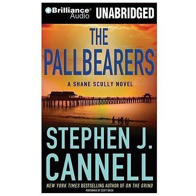 THE PALLBEARERS unabridged audio book on CD by STEPHEN J. CANNELL