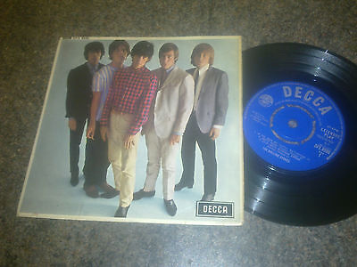 The Rolling Stones - Five By Five - 7'' Ep  Decca Dfe 8590 Mono 1964  Uk  **