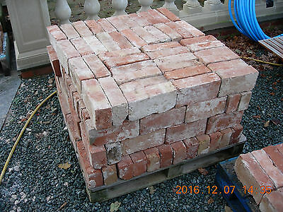 Cheshire Handmade Bricks Reclaimed 250 cleaned and palletted