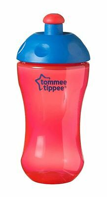 Tommee Tippee Free Flow Sports Bottle Red