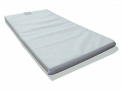 LAURA 119x59cm Baby Travel Cot Mattress 5cm Thick / Fitted Sheet Available