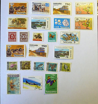 Africa Tanzania Stamps used & mint lot718