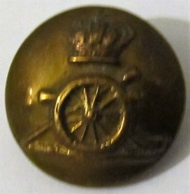 Authentic Victorian Vintage Royal Artillery military army button