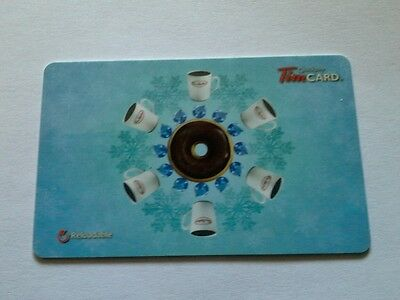 Tim Hortons Gift Card $0.00 on card 2012 FD 32299 Free Shipping