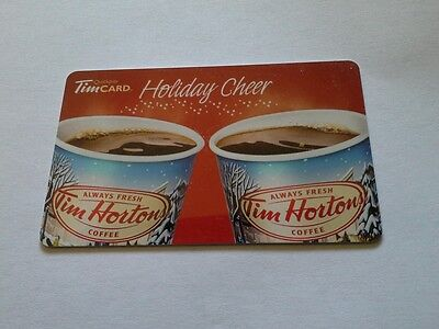 Tim Hortons Gift Card $0.00 on card 2013 FD 38496 Free Shipping