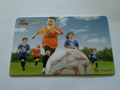 Tim Hortons Gift Card $0.00 on card 2012 FD 29291 Free Shipping