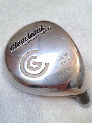 Cleveland launcher 22* 7 wood head only
