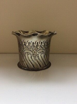 Mappin Brothers Silver Vase/ Pot