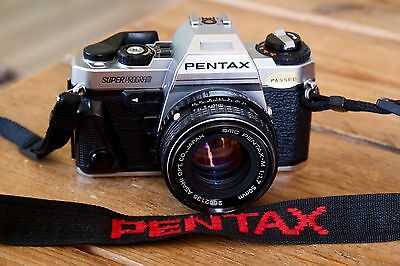 Pentax Superprogram with Pentax-m 50mm f1.7 in great condition