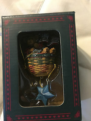 2009 Boyds Bear Collection Bearstone Our Liberty Bear Ornament!