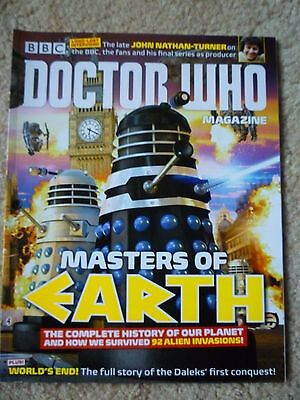 Dr Who Magazine # 487 July 2015
