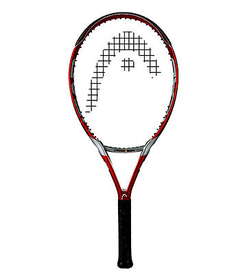 New Head Crossbow 6 tennis racquet, 4 3/8, 112 sq in, unstrung,plastic on handle