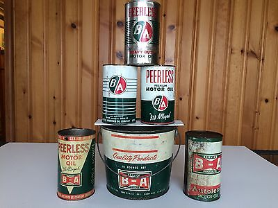 Ba (British-American) Oil Can Collection