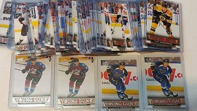 2013-14 Upper Deck Series 1 One Young Guns YG RC Rookie Set Completer Lot UPick
