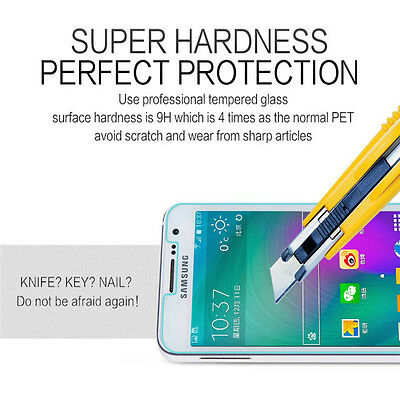 100% Genuine Tempered Glass Screen Protector for Samsung Galaxy A3 2017