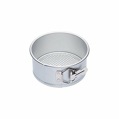 Master Class 6-Inch Silver Anodised Spring Form Quick Release Cake Pan